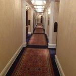 Коридоры отеля