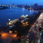 saigon view from hotel window