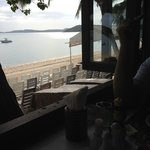 Breakfast view over BoPhut beach