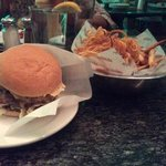 double burger.