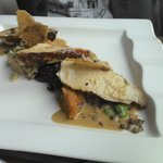 chicken confit dish