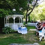 Wedding Gazebo by the river
