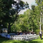 Outdoor wedding venue- quaint & romantic