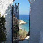 la porte vers le Paradis