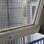 filthy window