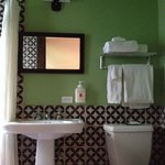 """Loved every detail of this hôtel and bedroom (number 14). Too bad the bathroom """"door"""" was so lou"""