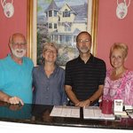 Innkeepers Don and Virginia (on the left) were wonderful people