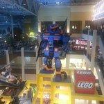 Indoor Giant Lego Display
