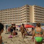 vistas hotel desde el mar