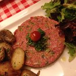 Steak tartare!