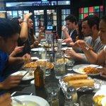 Customers dining