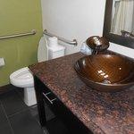 Bathroom with odd sink