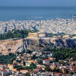 Athens from Lycabetus