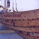 Viking boat replica