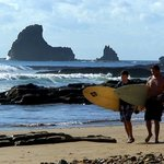 Maderas Beach, a world-renowned surf break