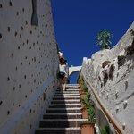 途中の階段