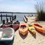 Lots of boats to choose from (but choose the kayaks!)