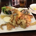 Olive Tree - Seafood platter (for one)