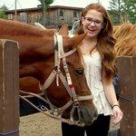 Getting ready to go horseback riding!
