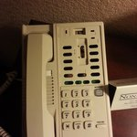 The phone in our room