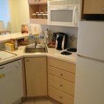 King Junior Suite kitchen