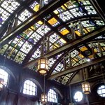 Beautiful stain glass ceiling