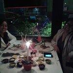 En uno de los ambientes del Restaurant La Cabrera