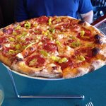 Medium size Spicy Italian.  So good.