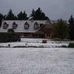 Snow Fall at Fyffe Country lodge