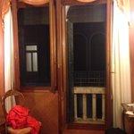 """Room view toward window and """"door"""" window"""