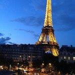 Tour Eiffel Iluminada