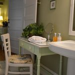 A romantic dressing table