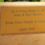Bench Memorial Plaque for my parents