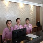 Lovely reception staff