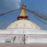 Bauddhanath Stupa.