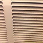 ventilation grates in our filthy room