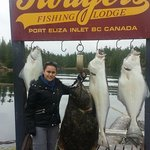 Tons of Halibut, including one my size!