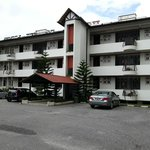 General view of the hotel/apartment building
