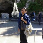 Grotto at Lourdes.