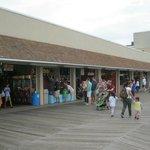 Boardwalk front of Funland