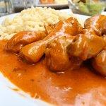 Paprika Chicken with Nokedli