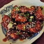 Korean BBQ Chicken Wings.