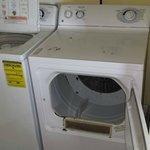 Damaged dryer