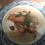 Filetto di salmone e merluzzo
