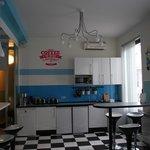Breakfast room + kitchen