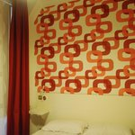 Small room double bed