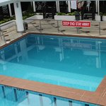 Deep pool diving