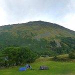 Lower camping field