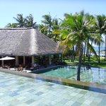 Hotel towards beach