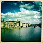 Ponte Vecchio within a short of walk of the hotel